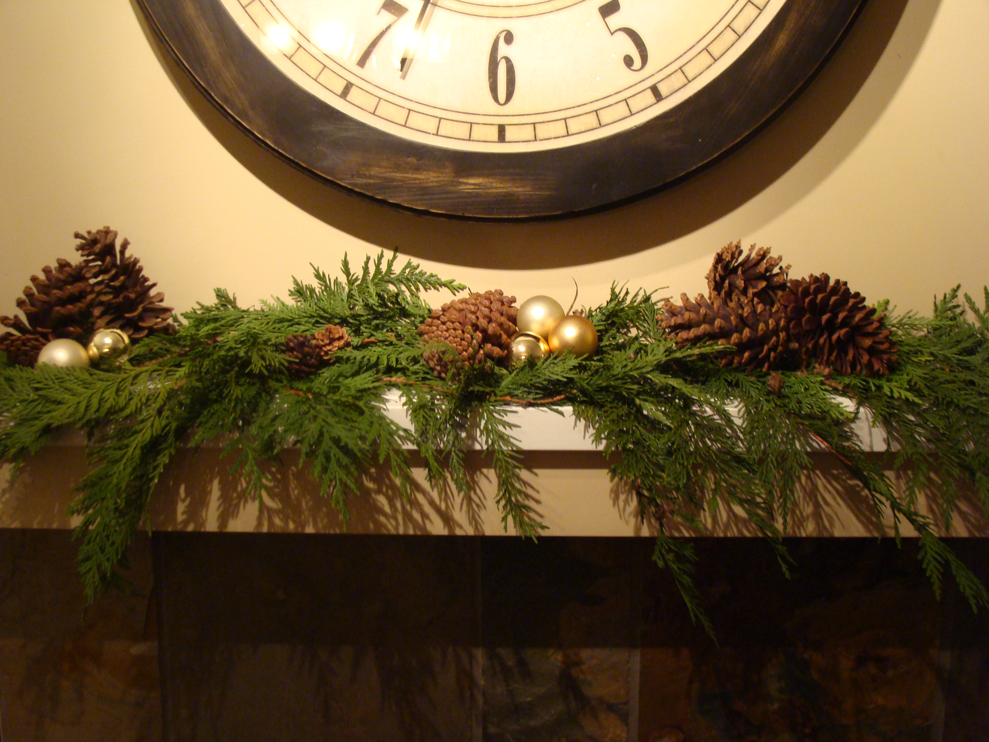 Pine Branches For Decoration Decorating For Christmas In An Apartment Weddingbee